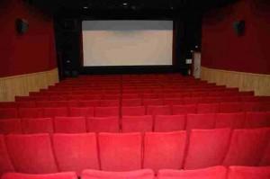 La salle rénovée du cinéma Le Vendelais