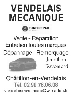 VENDELAIS-MECANIQUE